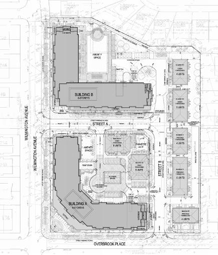 Wilmington Place Condos & Towns Site Plan